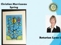 Paul Sottile of Olsen Sottile Insurance donated Tom Thomson's West Wind, his final painting. An important & influential Cdn artist, his numbered, matted & framed 30X34 print has a $649 value. Great addition to your home!